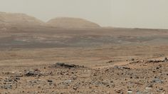 The Curiosity Rover lands on Mars, providing  the planet's first color image.
