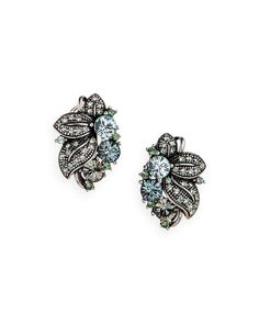Gem Fleur Earrings » These are so pretty!