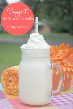 Love Starbucks? Check out our Copycat Starbucks Vanilla Frappuccino Recipe here!
