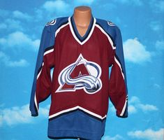 Colorado Avalanche Koho NHL Hockey Jersey Medium Vintage 1990s 6b355395a