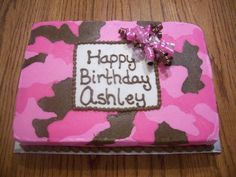 Pink and Brown Camo