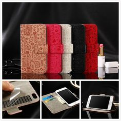 Leather case For Samsung Galaxy Express Prime cover Wallet Flip Case cover coque capa phones bag