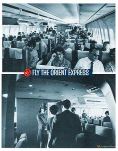 Northwest Orient Airlines 1970's