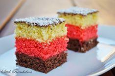 SÜTIK BIRODALMA: Néró szelet Krispie Treats, Rice Krispies, Sweet Cookies, Vanilla Cake, Muffin, Food And Drink, Sweets, Breakfast, Hungary