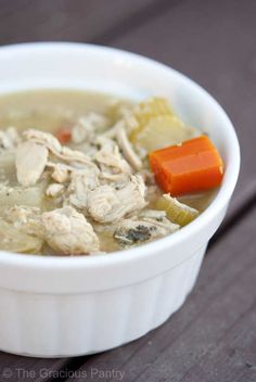 Clean Eating Leftover Turkey Soup