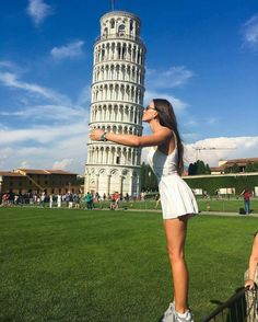 Leaning Tower of Pisa, Travel Pictures, Travel Photos, Cool Pictures, Cool Photos, Creative Photography, Photography Poses, Travel Photography, Italy Vacation, Italy Travel