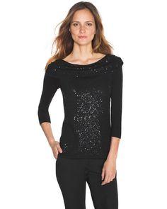 White House   Black Market Sequin Pullover #whbm
