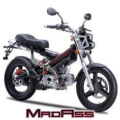 Sachs MadAss 125 Motorcycle