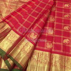 #Classy red #kanjivarams,from #Thirukumaransilks,can shop with us at +919842322992/whatsapp or at thirukumaransilk@gmail.com Kanjipuram Saree, Silk Saree Kanchipuram, Wedding Silk Saree, Bridal Sarees, Pure Silk Sarees, Cotton Saree, Ethnic Sarees, Red Silk, Saree Blouse Designs