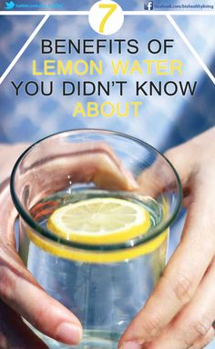 I just like the way it tastes - but lemon water has some great health benefits, too!
