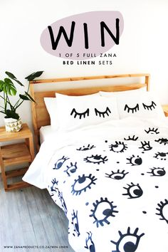 Sleep addicts need beautiful linens too!