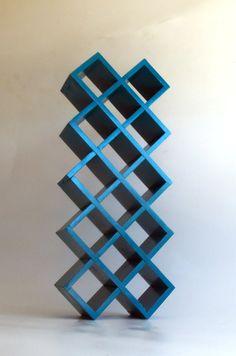 Shot Glass Shelf Knick Knack Cubby Storage by MakingMidCenturyMod