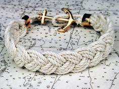 """Mariner & Cape Poge Bay    Kiel James Patrick """"Turk's Head Knot"""" sailor rope bracelets are a re-creation of the timeless beach-side accessory. Each bracelet is hand-braided from our own custom made high and quality twisted cotton. The cotton rope used in each is carefully hand braided at the Kiel James Patrick headquarters located in Rhode Island."""