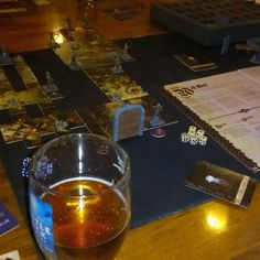 Out with mate's last night gaming and drinking beer.  #Nottingham #drinking #with #mates #and #boardgaming