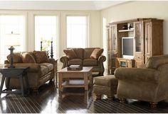 Laramie Sofa & Loveseat – Katy Furniture