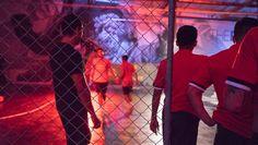 Adidas Opens The Base LA With an International Tango League Showdown - Urban Pitch Street Football, Night Photos, Tango, Pitch, Videogames, Soccer, Ear, Urban, Inspiration