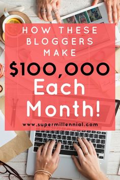 Need a new side hustle that has unlimited potential? Start a blog to be like these 5 bloggers who earn over $100,000 or more each month! Learn how they started a blog as a side hustle and grew into their own business.