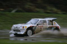 Peugeot 205 T16. Group B monster that won the World Rally Championship in 1985.
