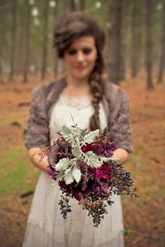 Fall Aggie wedding bouquet...