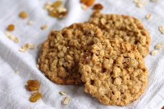 Thin and Chewy Oatmeal Cookies by EYHOblog, via Flickr