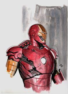 Iron man art