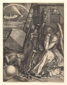 Albrecht Dürer (German,1471–1528). Melencolia I, 1514. The Metropolitan Museum of Art, New York. Bequest of Harris Brisbane Dick Fund, 1943 (43.106.1)
