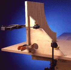 Love this corner clamping guide