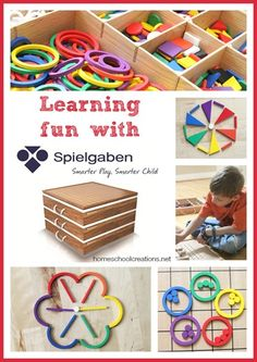 A peek at how #Spielgaben is being used with #homeschool kids ages 7-10.