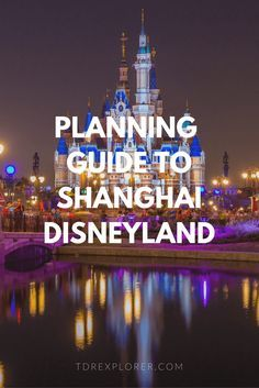 Learn how to plan a trip to Shanghai Disneyland in 2020 with our updated planning guide. When to visit, what hotel to choose, & how to get there. Parc Disneyland Paris, Disneyland Tips, Hong Kong Disneyland, Disney Tips, Disney Stuff, Walt Disney World, Disney Parks, Shanghai Disney Resort, Moving To China