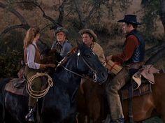 Betsy, Trampas, Steve and The Virginian Stuart Mclean, Shiloh Ranch, Doug Mcclure, James Drury, Cowboy Horse, The Virginian, Western Film, Tv Westerns, Old Tv