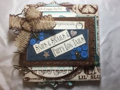 This new baby boy mini album is perfect for your little guy. Laurie has created…