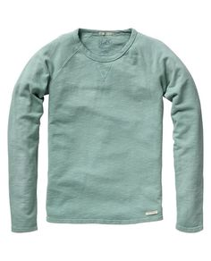 mineral basic crew neck sweatshirt. by scotch & soda, a great company making simple stylish clothes with good quality