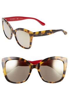 Dolce\u0026amp;Gabbana 54mm Retro Sunglasses available at #Nordstrom