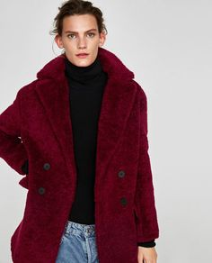 TEXTURED COAT WITH LAPELS-Coats-OUTERWEAR-WOMAN | ZARA United States