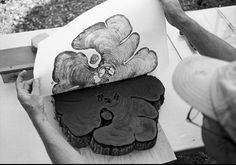 printmaking from nature.