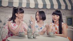 「Ora2×Perfume All Day くちもとBeauty」編のワンシーン。