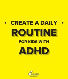 """""""By following a detailed, structured routine, your child will be able to complete his chores and still have some fun."""" Quote From Recite.com"""