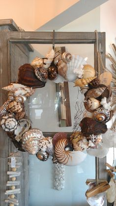 Large Shell Wreath  (949) 675-2506
