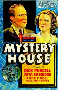 Unseen Films: Mystery House (1938)