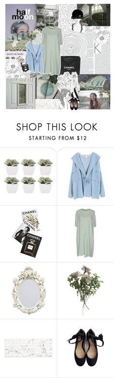 """""""LOVE, LOVE THE STARS. LOVE, LOVE THE MOON."""" by unkingly ❤ liked on Polyvore featuring Abigail Ahern, Too Late, Chicnova Fashion, Assouline Publishing, Chanel, Marni, Recover and Gryson"""