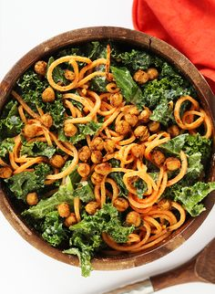 Vegan Kale Ceasar Salad Recipe – Inspired by This