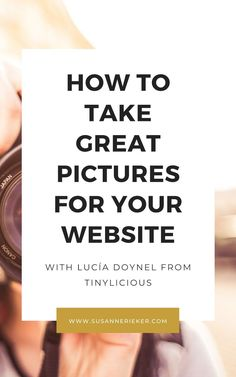 How to Take Great Pictures for Your Website with Lucía Doynel - Susanne Rieker | Marketing for Yoga Teachers