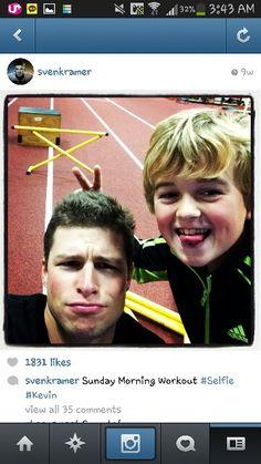 Kramer instagram....sooooooooo cute kramer and the child^^