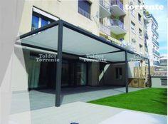 Pergola aluminio con toldo veranda by toldostorrente.com