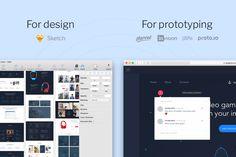 Odessa UI Kit by Great Simple on @creativemarket #webdesign #design