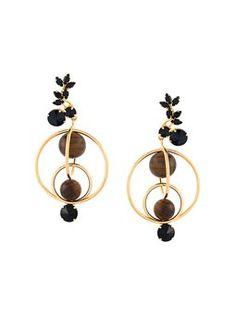 mixed hoop clip on earrings