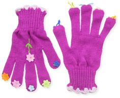 2 Pairs Boys Girls Kids Childrens Grip Gripper Warm Thermal Stretch Magic Gloves Animal Camo or Football