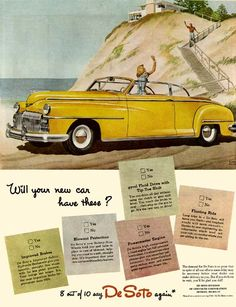 Desoto On Pinterest Sedans Convertible And Coupe