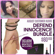 Defend Innocence! #AugustKudos Help Defend and show your support with this month's Customer Kudos! #YouniquebyJoLynn #DefendInnocence