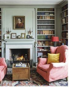 Trendy home office ideas traditional built ins ideas Living Room Furniture, Living Room Decor, Living Spaces, Living Rooms, Sage Living Room, House Rooms, Furniture Stores, Apartment Living, Rustic Furniture